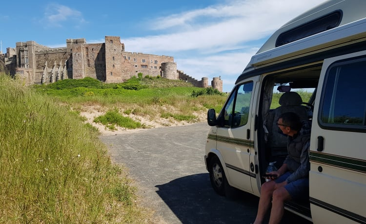 Goldie the Campervan - explore beautiful South West England