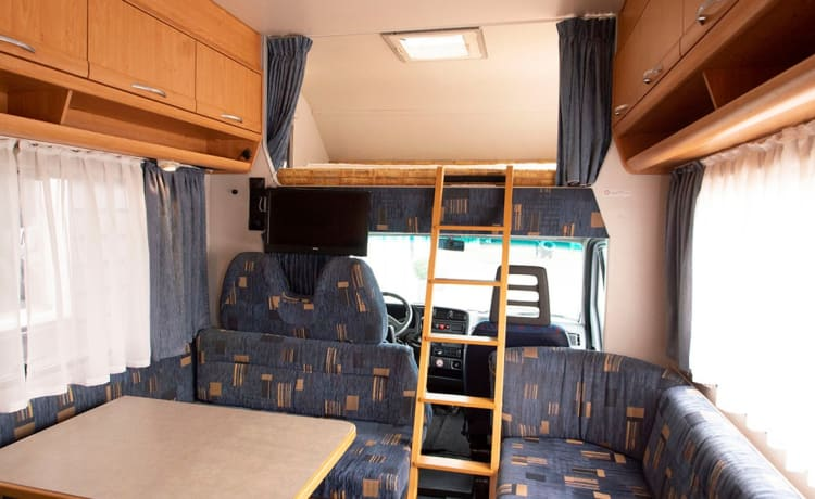 Camperventure – Familie camper klaar voor gebruik