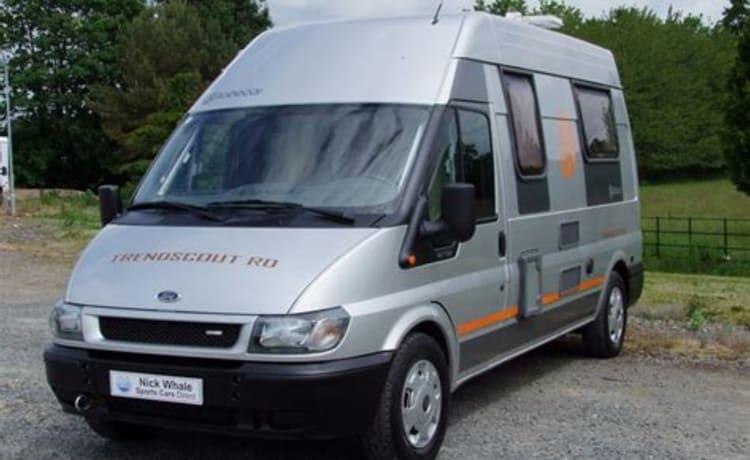 Co-bus – compacte en toch ruime buscamper, 5.66 m