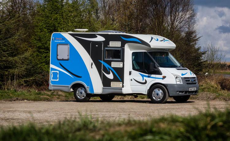 Camper con 2 posti letto - Chausson
