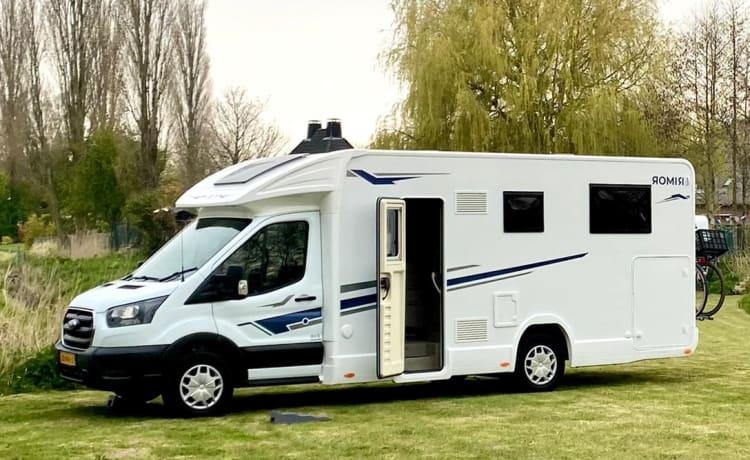Rimor EVO 95 Plus  – NEW! Spacious and comfortable (2021)