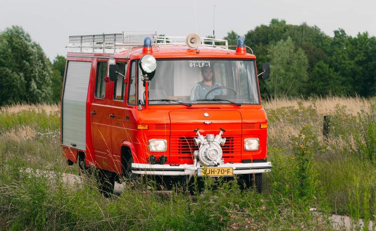 Bompa – Bompa – Klassieke Brandweerwagen - Mercedes Benz 409