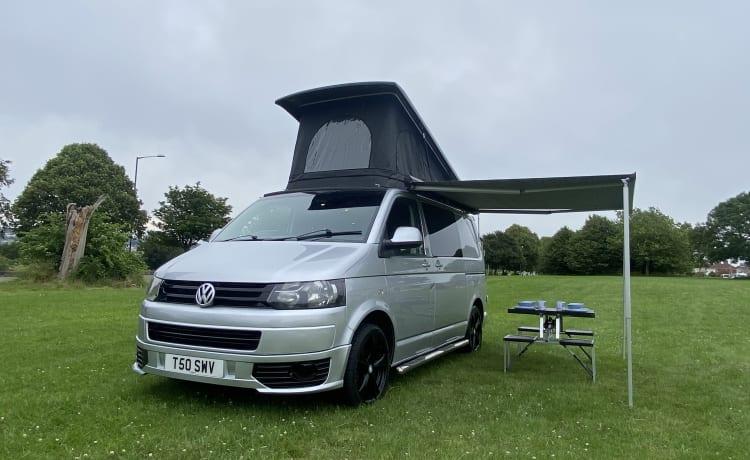 Silver explorer  – VW-transporter