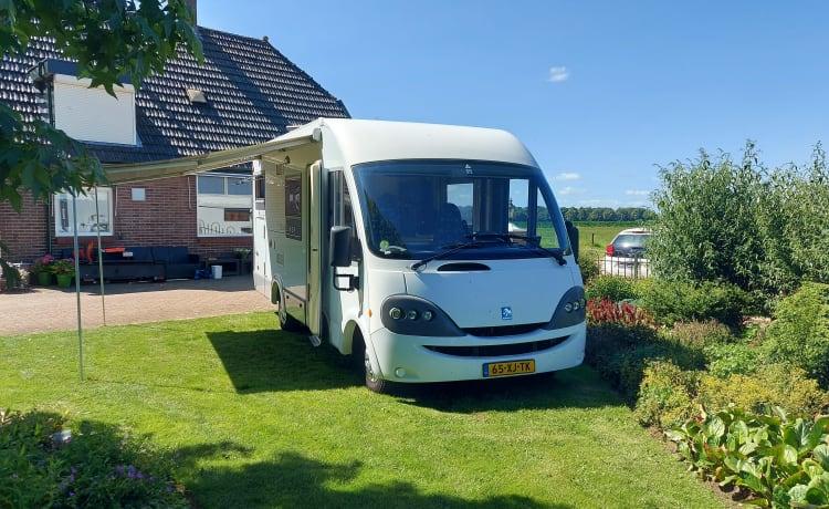Knaus – Essencamp Knaus, nice spacious camper