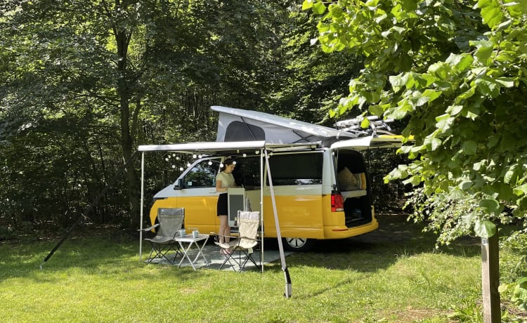 Luxurious and new (2021) Tonke VW camper bus (Wijdemeren)