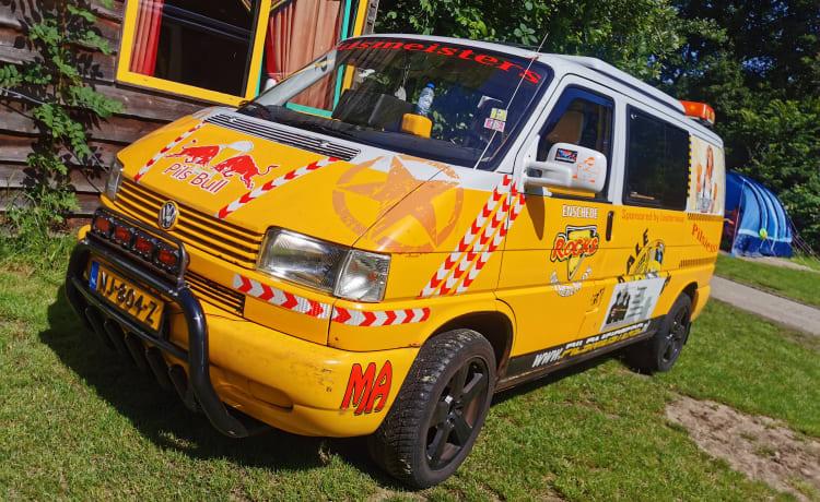 De Bierbus – Unieke VW T4 Camper