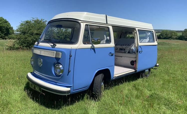 Tilly – Klassieke VW T2 Campevan