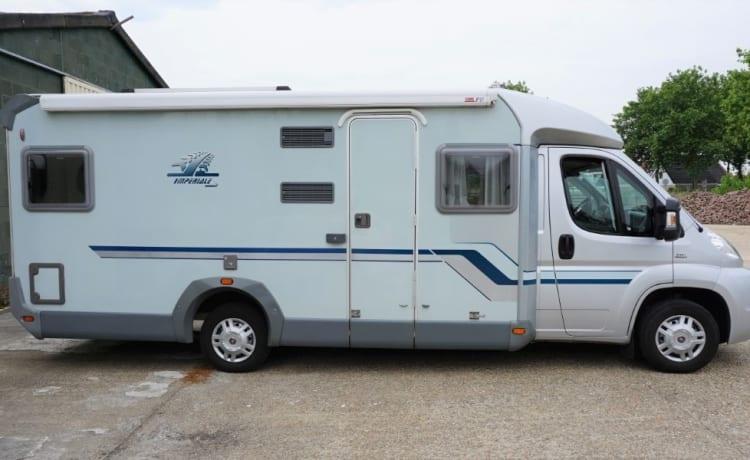 zeer luxe, mooie tweepersoons camper