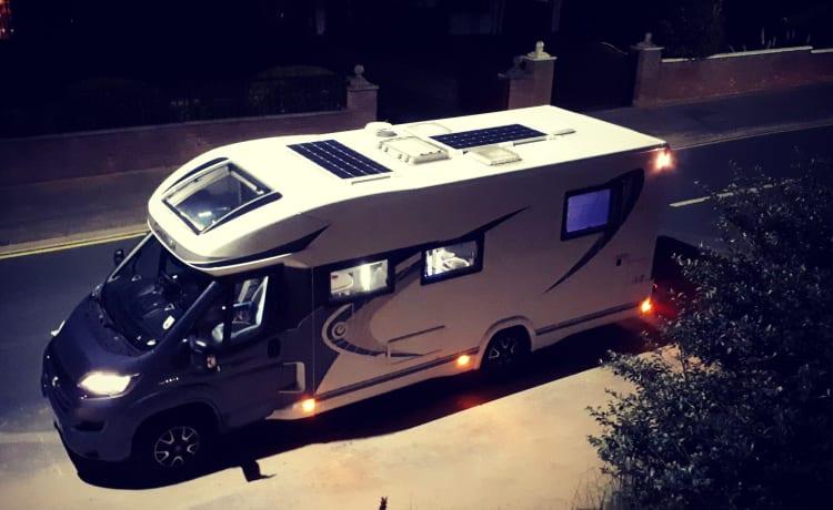 Chrissy – Chrissy Chausson - Luxurious 4 Berth Motorhome