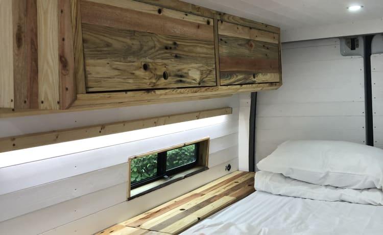 Peach – Mercedes Sprinter Campervan