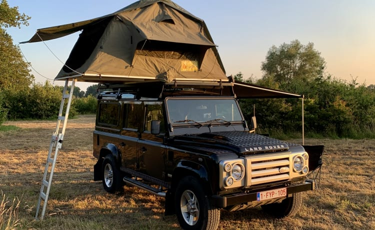 Defender 110 by Lowland Escapes