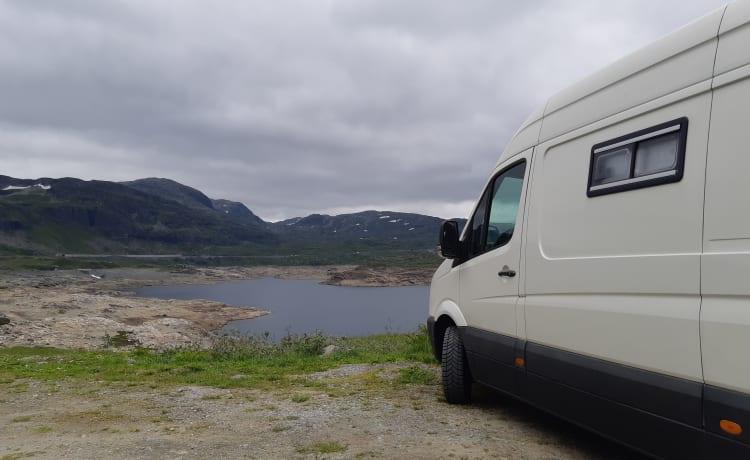 Volkswagen Crafter bus camper