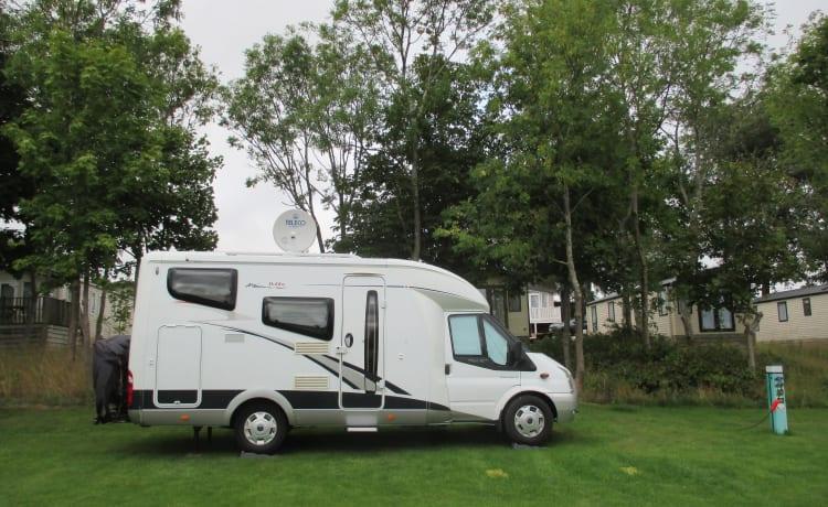 In de herfstvakantie met onze luxe compacte camper op pad?