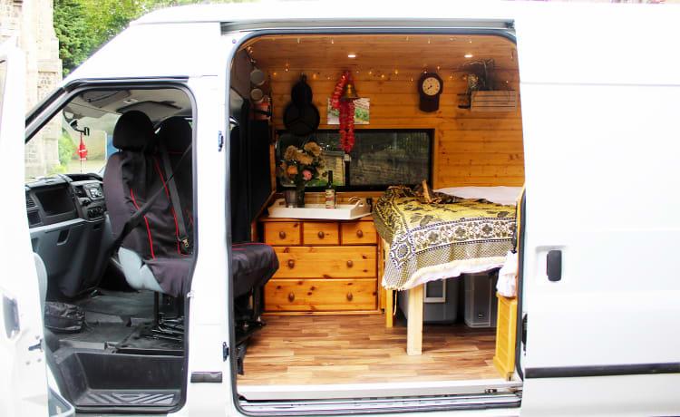 Frosty – Doorvoer camper