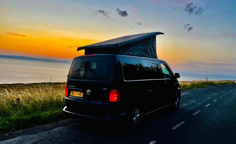 Volkswagen T6 campervan