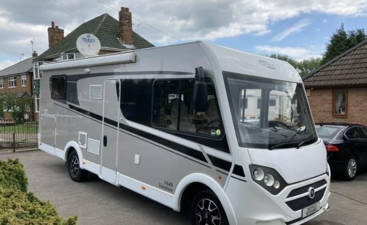 Carado  – Luxe A klasse Camper