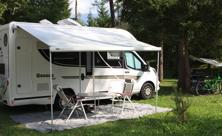Ruimtewonder  – Practical camper our cocoon 483