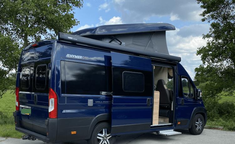 Fiat Hymercar Omg Drenthe  – Zeer Luxe Buscamper Met Slaapdak (4 pers ) In Nieuwstaat!
