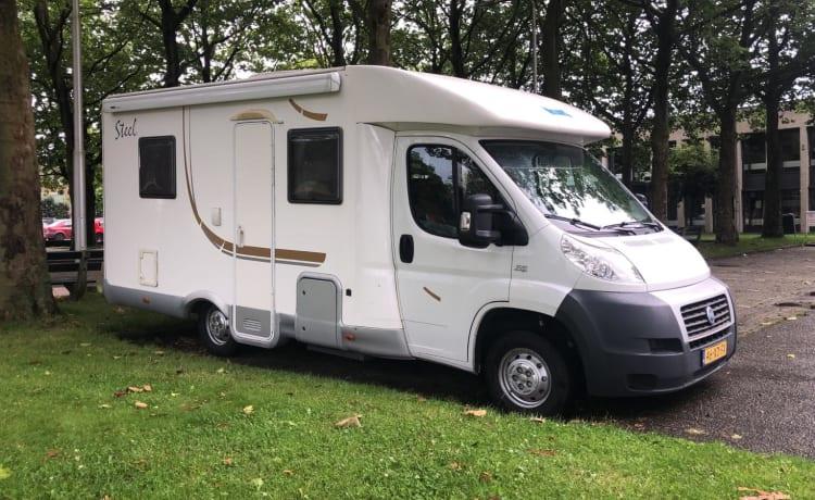 Complete Fiat camper NIEUW IN VERHUUR