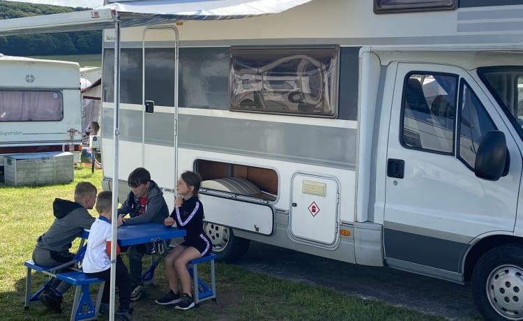Passion – 5 Berth Family Camper geweldig voor alle avonturen van het leven