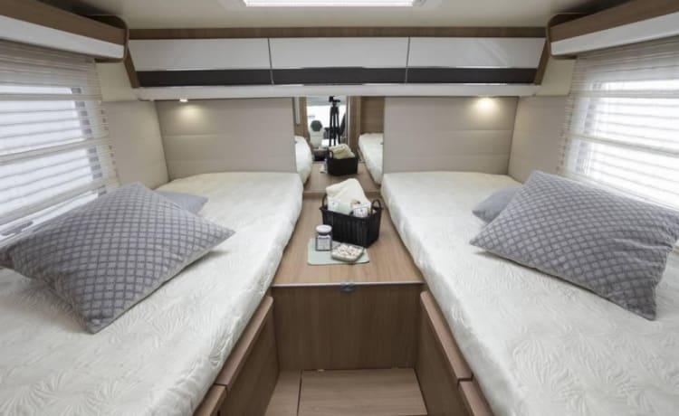 NEW! Luxurious, spacious and comfortable family camper