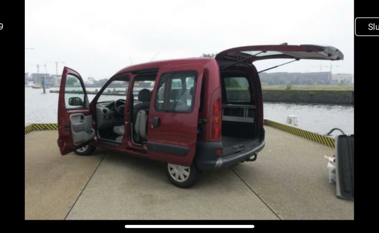 Complete mini-camper Renault Kangoo