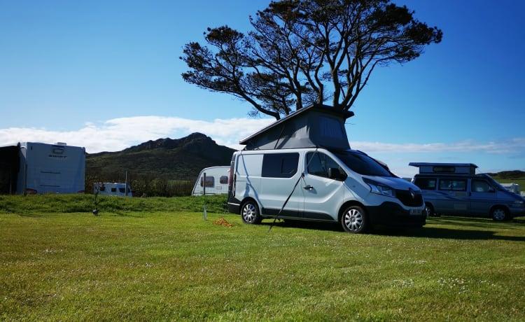 4 persoons moderne schone camper!