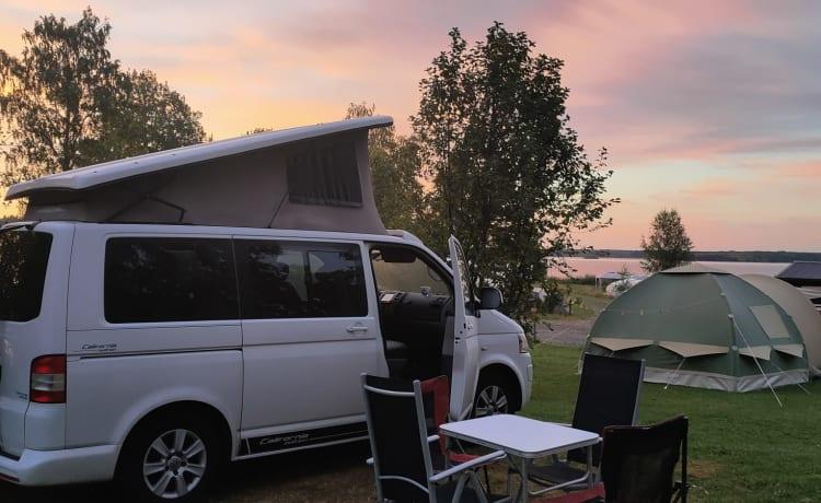 The White Edition – California White Edition 4 person camper van DSG 7 140 HP.
