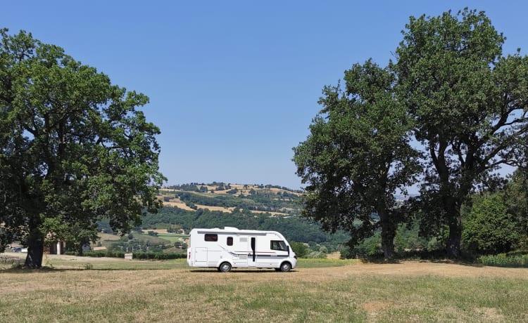 Super luxe integraal camper