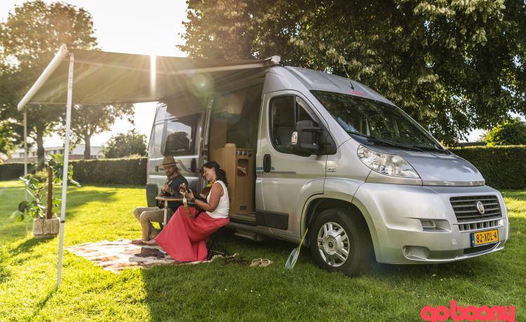 Hygge – Sfeervolle camperbus voor een leuk avontuur