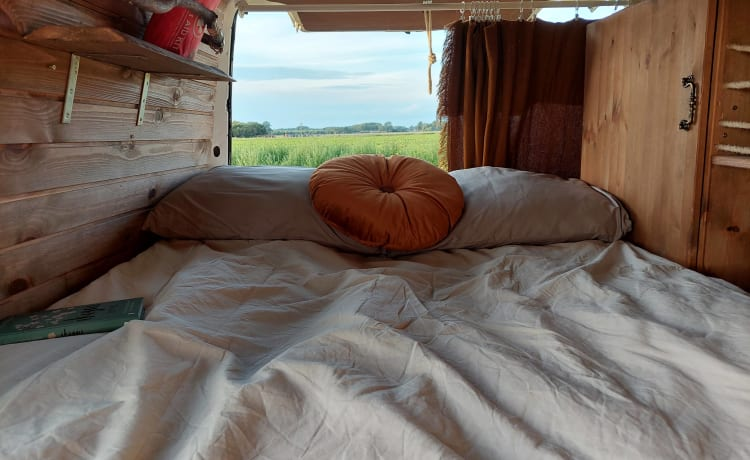 Make some memories with our fine Volkswagen camper bus!