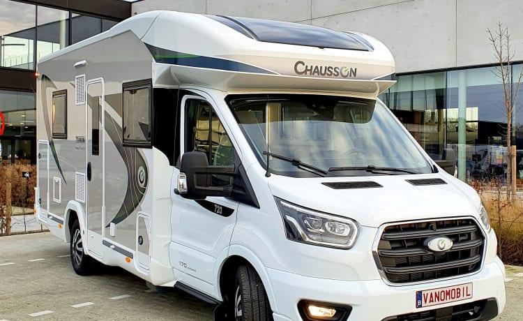 Billie – Nieuwe luxe Chausson [2022] - genieten van vrijheid in alle comfort