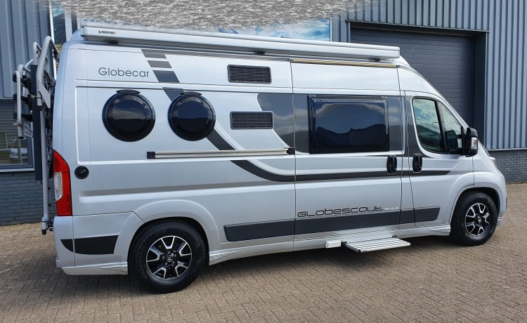 Luxury Possl Globecar Globescout style bus camper for 2 to 3 people