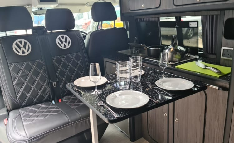 Albert - Huisdiervriendelijk - Prachtige VW T6 Camper