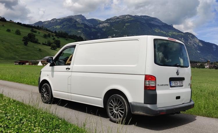Volkswagen T5 te huur