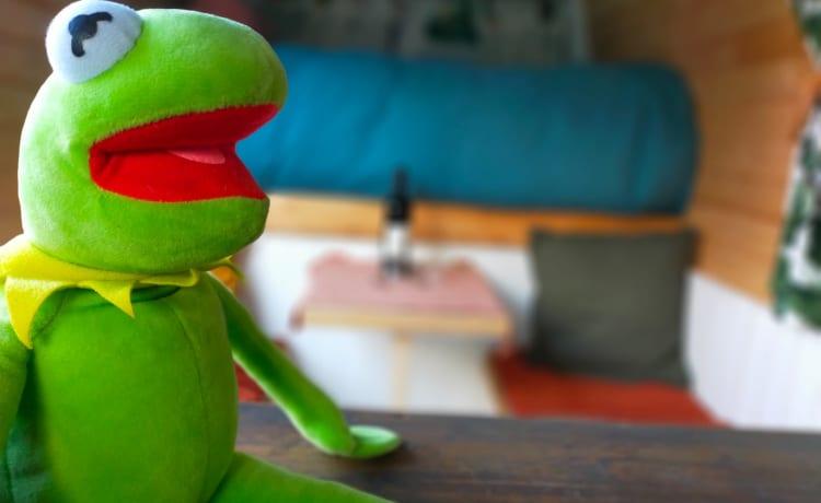 Kermit – Op avontuur met onze fantastische Kermit de buscamper!
