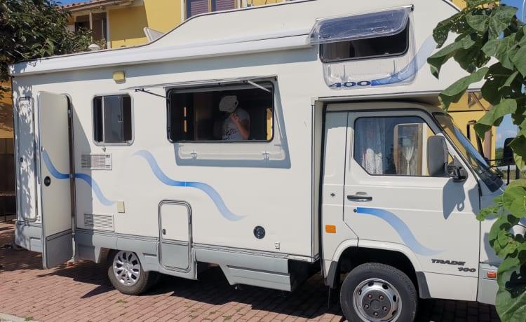 S2unT – Rimor camperbasis Nissan 3.0 TD