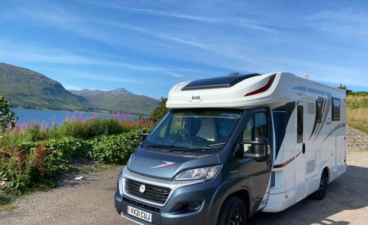 Granite City – Nieuwe moderne camper huren