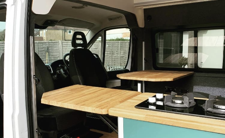 Great family van or spacious luxury for a couple