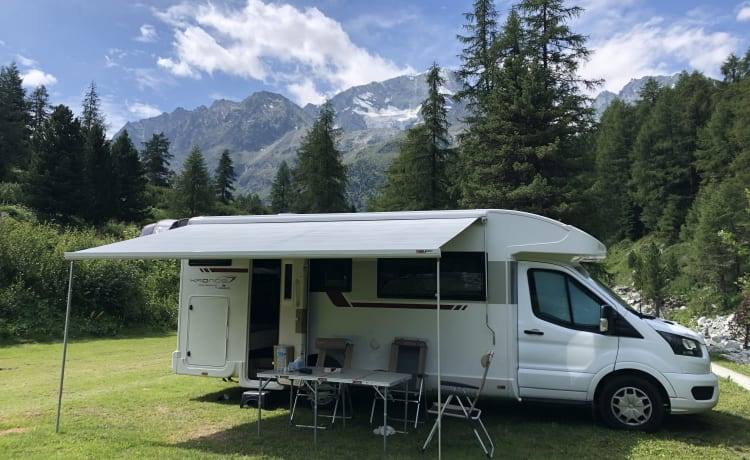 Moby  – New (2020) spacious mobile home