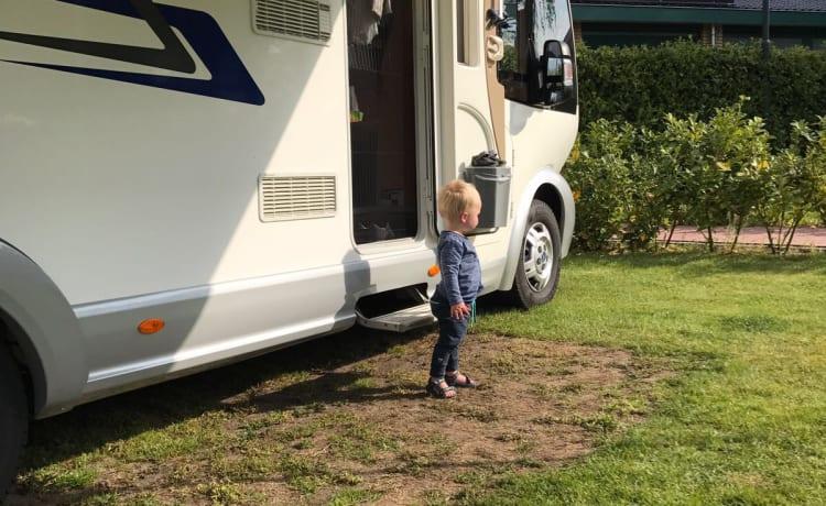 De reus – Extra grootte camper op B-rijbewijs