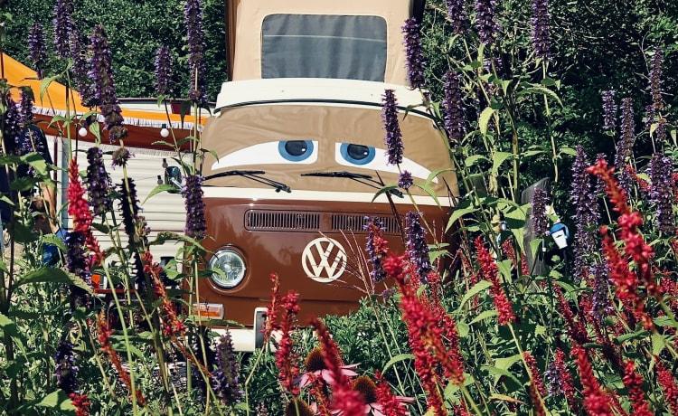 Bob – Bob the retro volkswagen T2a camper bus