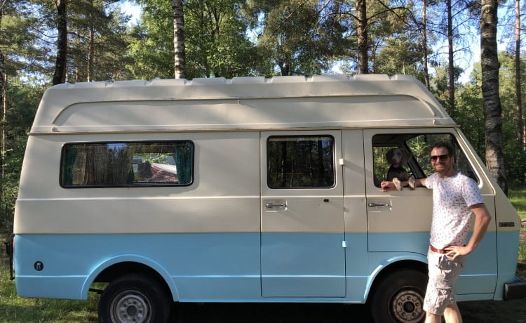 VW LT28 1977 Haarlem