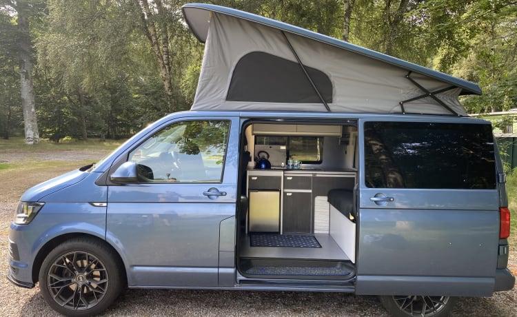 Bella - VW T6 pas omgebouwd