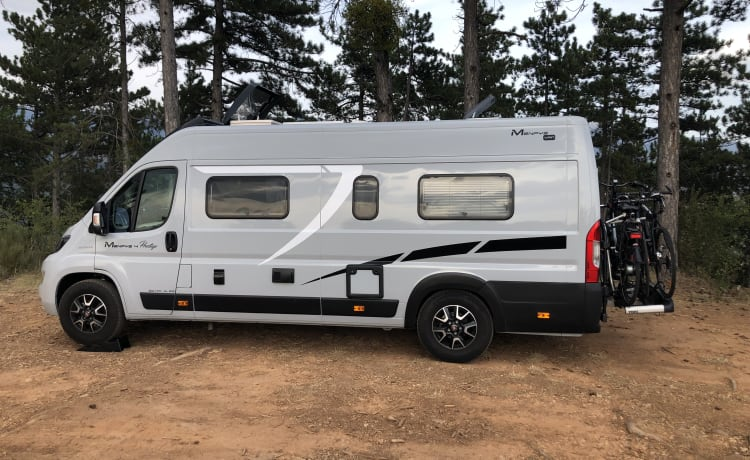 NIO – Nieuwe VAN/Camper, genieten met twee in de natuur!
