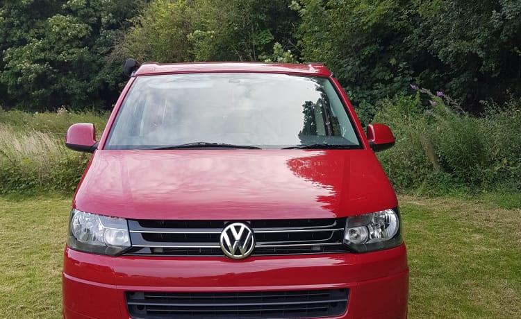 Big Red – VW 5.1 California Beach - ready to roam!