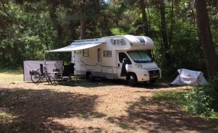 Heerlijke familie camper