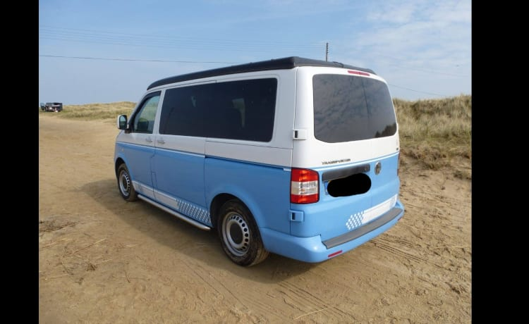Belle – Bluebelle - VW Camper (T5)