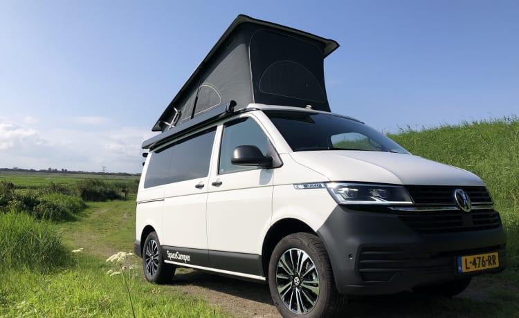 Zandhaas – Volkswagen VW T6.1 BusCamper SpaceCamper Limited-Open 5Pers