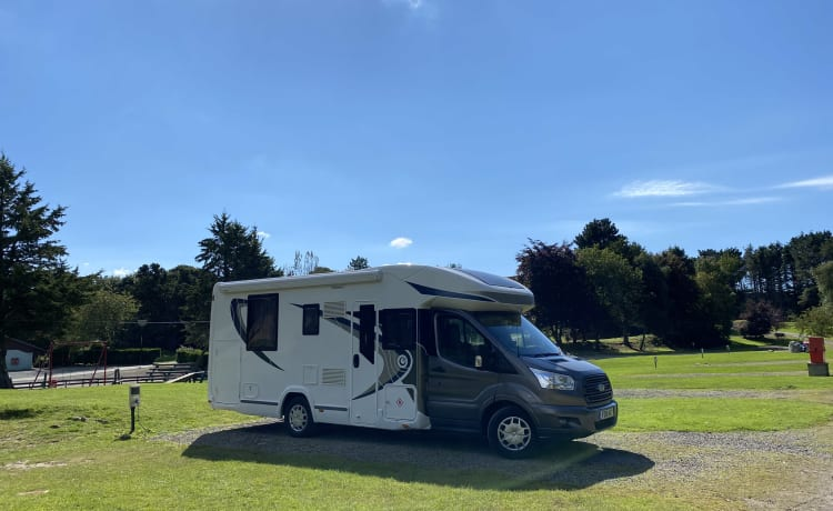 Luxe 2016 4-persoons camper